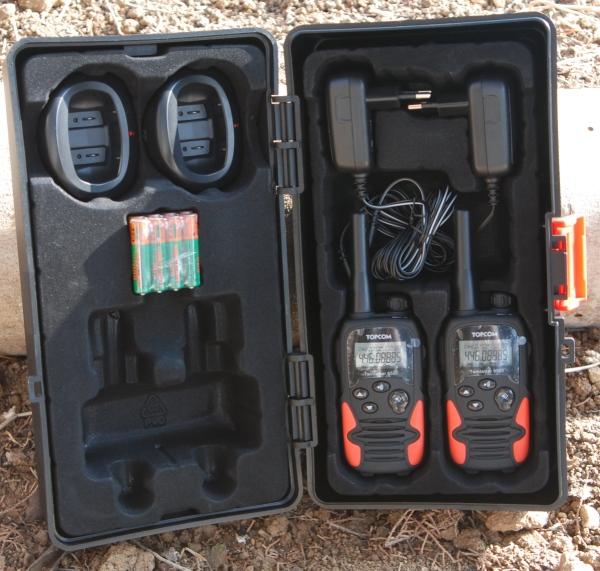 האופנה האופנתית ג'יפולוג 4X4 - מבחן מכשירי קשר QB-31