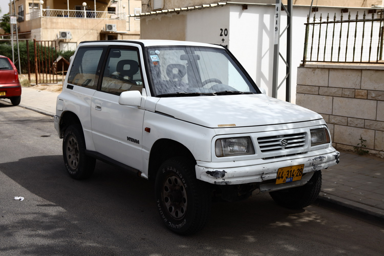 למעלה למכירה ג'יפ סוזוקי ויטרה 1997 TW-15
