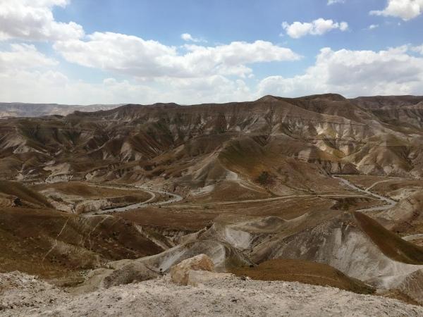 נוף מדבר יהודה
