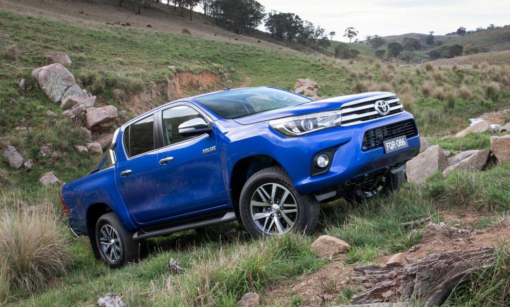 טויוטה חושפת את ההיילקס החדש באוסטרליה