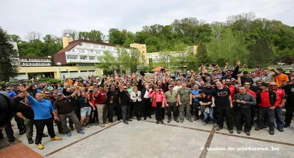 כינוס ודברי פתיחה ב-croatia trophy 2015