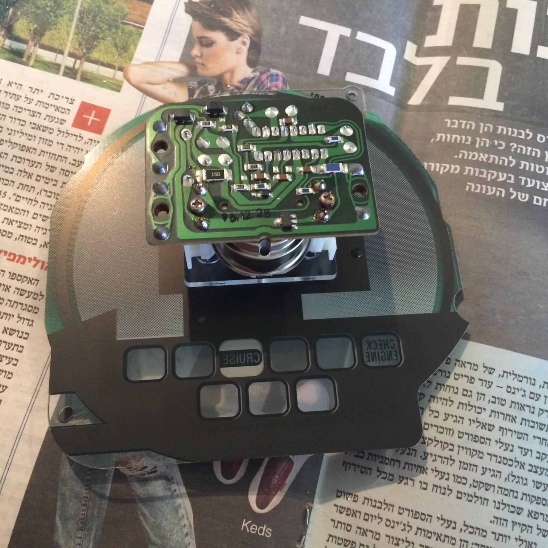 fix RPM meter