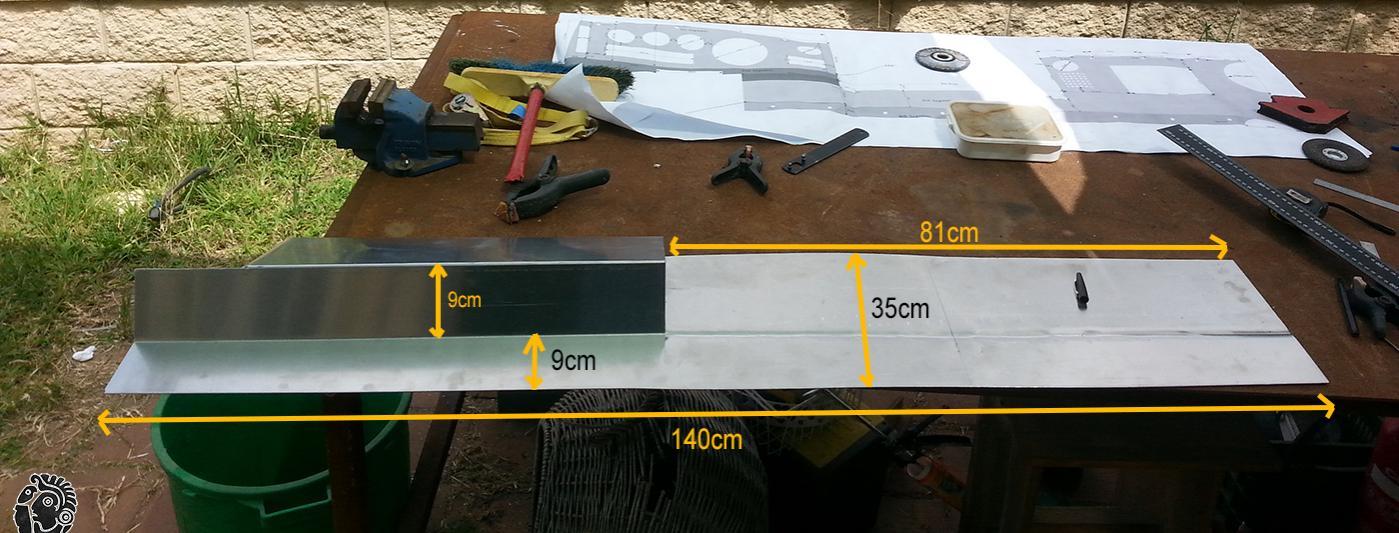 פלטת אלומניום לייצור דשבורד לרכב שטח