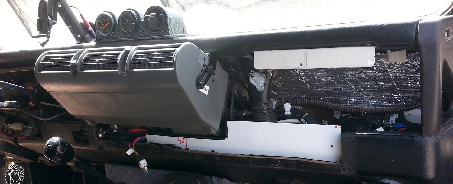 מזגן לרכב שטח דיפנדר 4X4