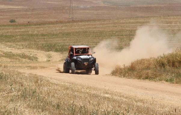 RZR 900 בהכנות לראלי יוון בשבילים המהירים של הנגב הצפוני